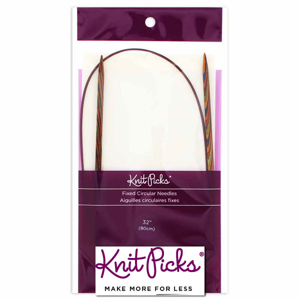 KNIT-PICKS-Rainbow-Wood-Circular-Knitting-Needles-80-cm-32inch-4-5mm-US-7
