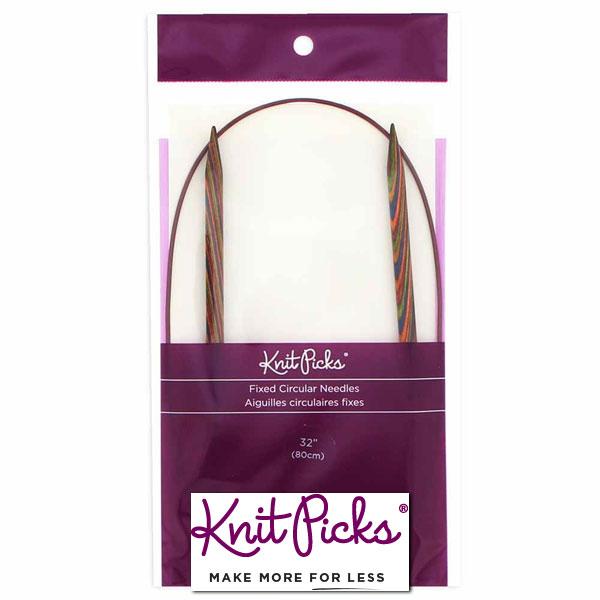 KNIT-PICKS-Rainbow-Wood-Circular-Knitting-Needles-80-cm-32inch-6-5mm-US-10-5